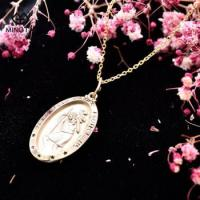China Christopher Protect US Gold Plated Religion Pendant Necklace 925 sterling silver jewelry necklace on sale