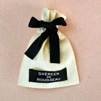 Buy cheap Custom Printed muslin cotton drawstring bags in fashion from wholesalers