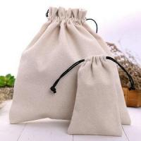 Buy cheap Wholesale Organic Cotton Canvas Fabric Drawstring Muslin Bag from wholesalers