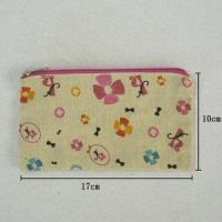 Best Cheap Canvas Zipper Cosmetic Bag with customized logo wholesale