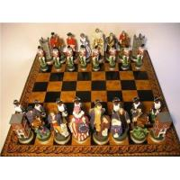 Best Character Chess Sets American War of Independance Chess Pieces hand painted wholesale