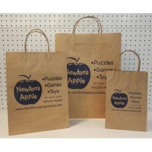 Cheap Logo Printed Gift Bags for sale
