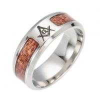 China Masonic Design Jewelry Ring on sale