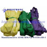 China Polyester Roundslings,lifting slings,endless round slings to ASME/ANSI B30.9 on sale