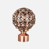 Buy cheap DF0027 Anti copper curtain finial from wholesalers