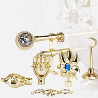 Best DT0013 Gold curtain pole metal curtain r... wholesale