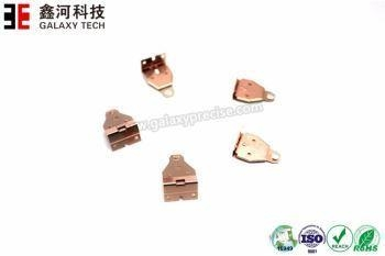 Cheap EV Relay Stamping Parts with Contact Rivet for sale