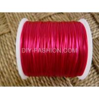 China JEWELRY CORD CRYSTAL Pink Stretch Elastic Beading Cord 80M on sale