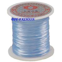 Best JEWELRY CORD ELASTIC STRETCH BEADING CORD BABY BLUE wholesale