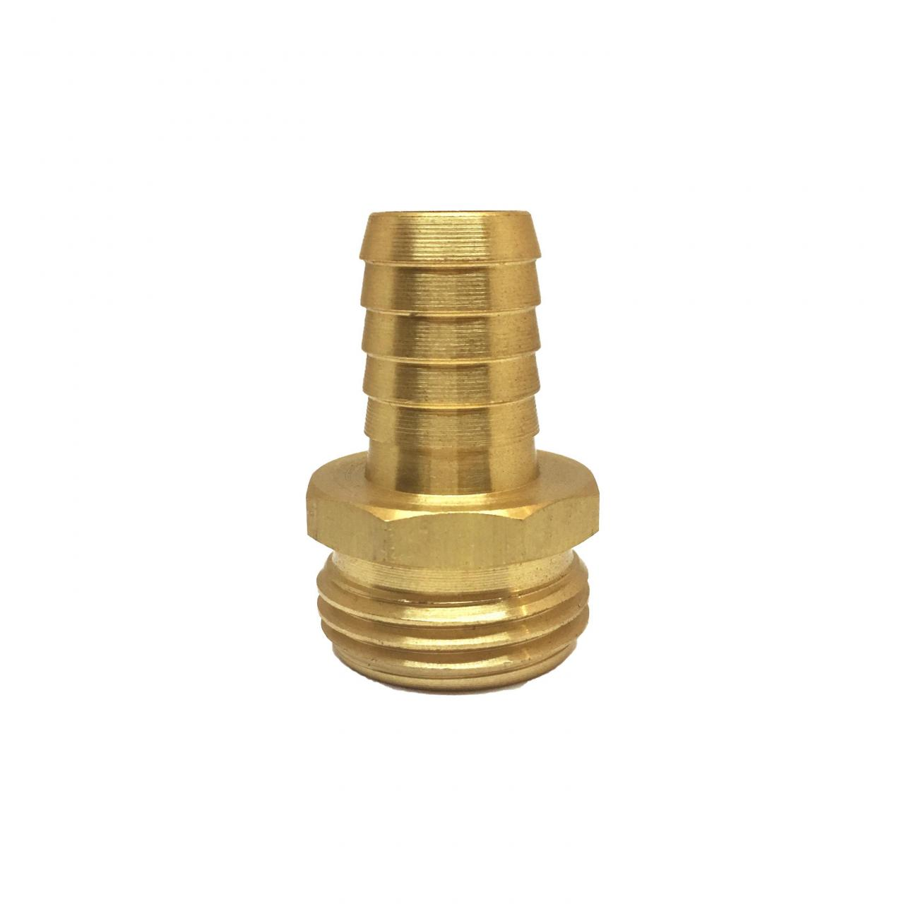"Buy cheap 5/8"" Brass Hose Barb with 3/4"
