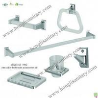 Best Bathroom Accessories Kit AT-1002 Zinc alloy bathroom accessories 6pcs wholesale