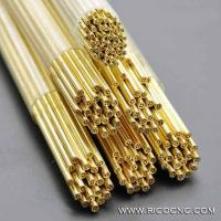 Cheap EDM Brass Pipe Multi Hole Electrode Tubes for Small Hole Popping EDM for sale