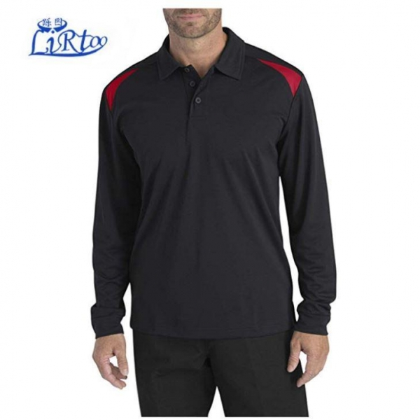 Cheap Man Long Sleeve Polo T Shirt Workwear for sale
