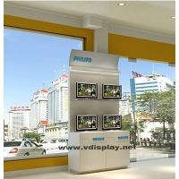 Best Retail Lcd Wooden Display Stand,Led Computer Display Counter Laptop Display Rack wholesale