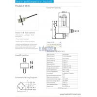 China Tension and compression load cell F3603 50n to 2000n on sale