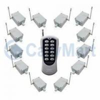 China 12CH DC12V 30A High Power Remote Control RF Transmitter Receiver on sale