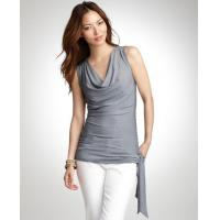 Tops & Tees Striped cowl neck top