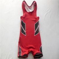 Buy cheap Blank Durable Wrestling Singlet from wholesalers