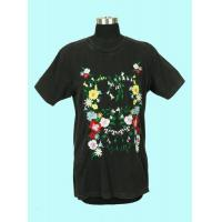 China 100%cotton Round Collar T-shirt on sale